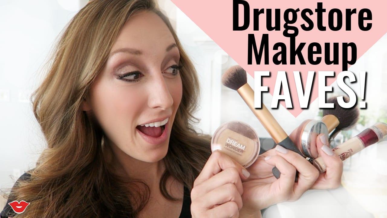 incredible, affordable DRUG STORE makeup!