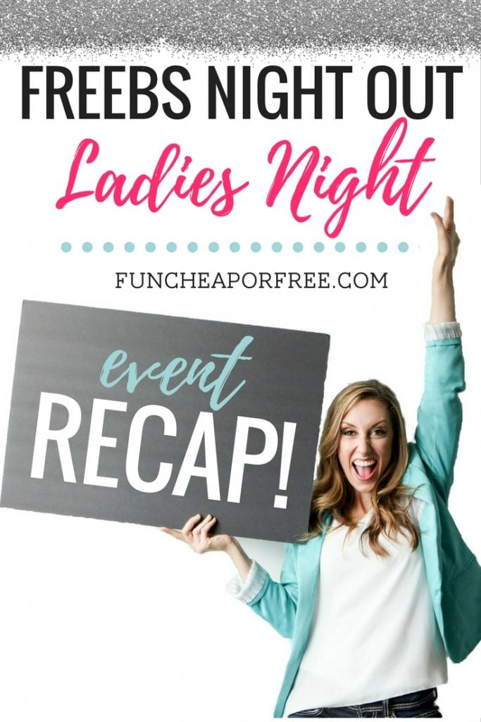 Ladies Night was a fun-filled, motivational, and inspiring evening for women like YOU! Read all about our evening away, www.FunCheapOrFree.com