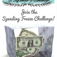 Join the Spending Freeze Challenge!