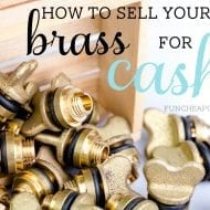 How to Sell Brass for Cash! (Trash to treasure, baby!)