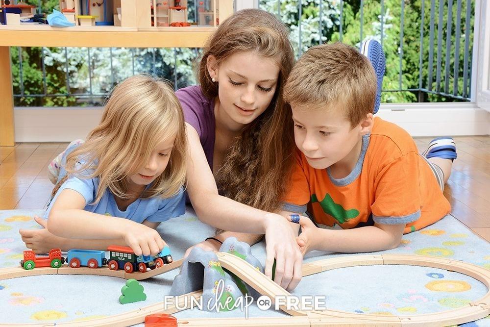 pre-teen girl babysitting, from Fun Cheap or Free