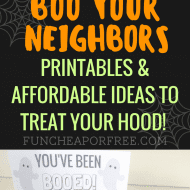 BOO Your Neighbors! (+ Free Printables)