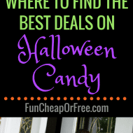 Where to find the best deals on Halloween candy!