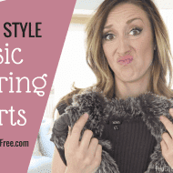 How to style a basic layering shirt! (+ a special discount code on my ..