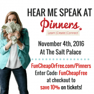 Hear me speak at Pinners Conference (+ Discount Code)!