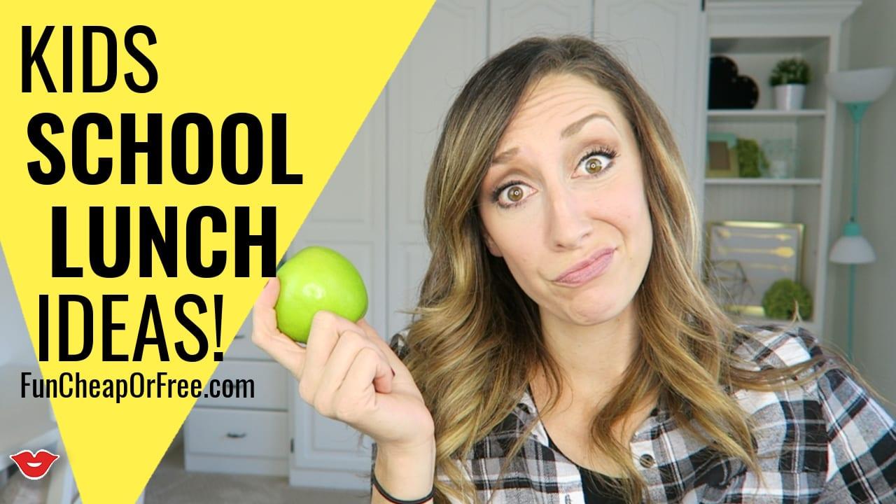 Kids school lunch ideas!