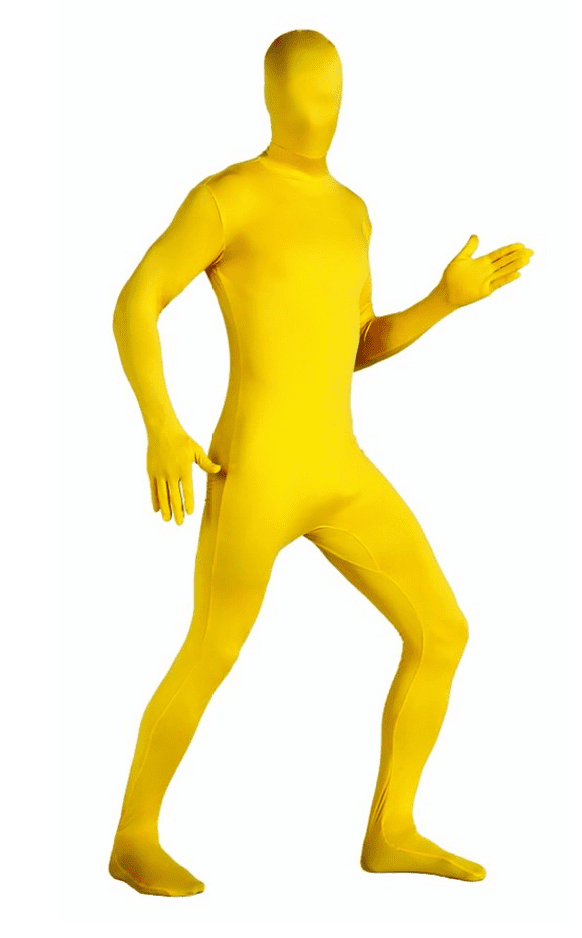 yellow-body-suit