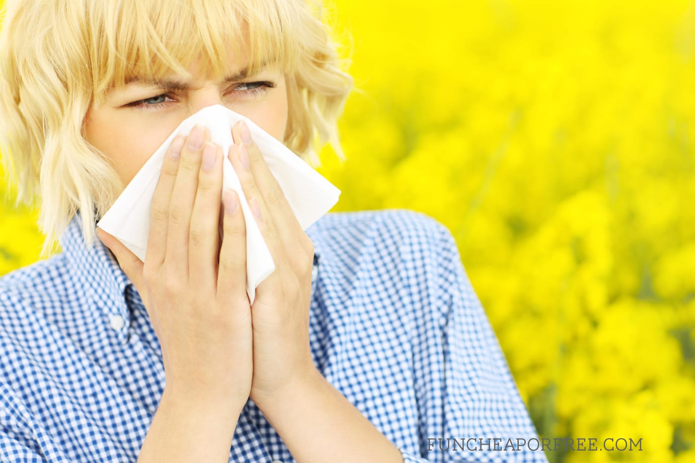 Who knew that CURTAINS were making my allergies worse?? Great ideas for getting rid of fall allergies!