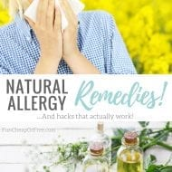 Natural Allergy Remedies! (Let's Beat Those Fall Allergies!)
