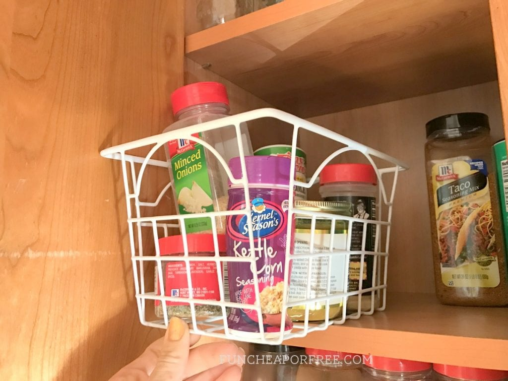 Awesome kitchen organization ideas! From FunCheapOrFree.com