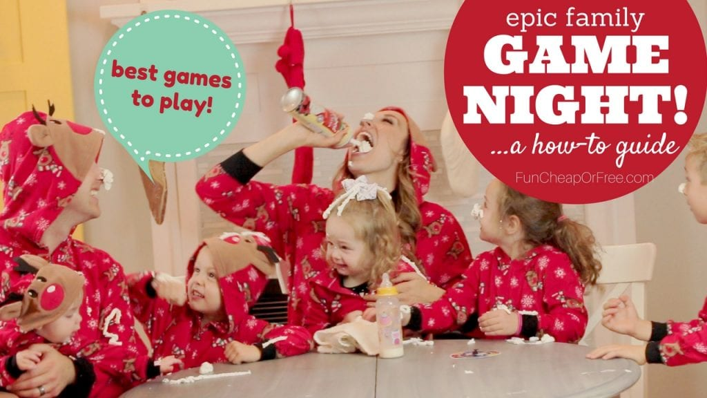 The 5 BEST GAMES for family game night! Just in time for the Holidays!