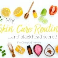 My skin care routine! Tools, tips, tricks, and my blackhead secret!