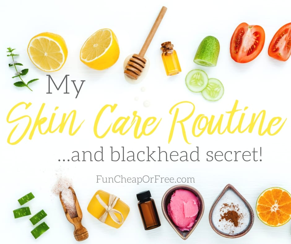 Easy skin care regime using mostly drug store products and at-home remedies!