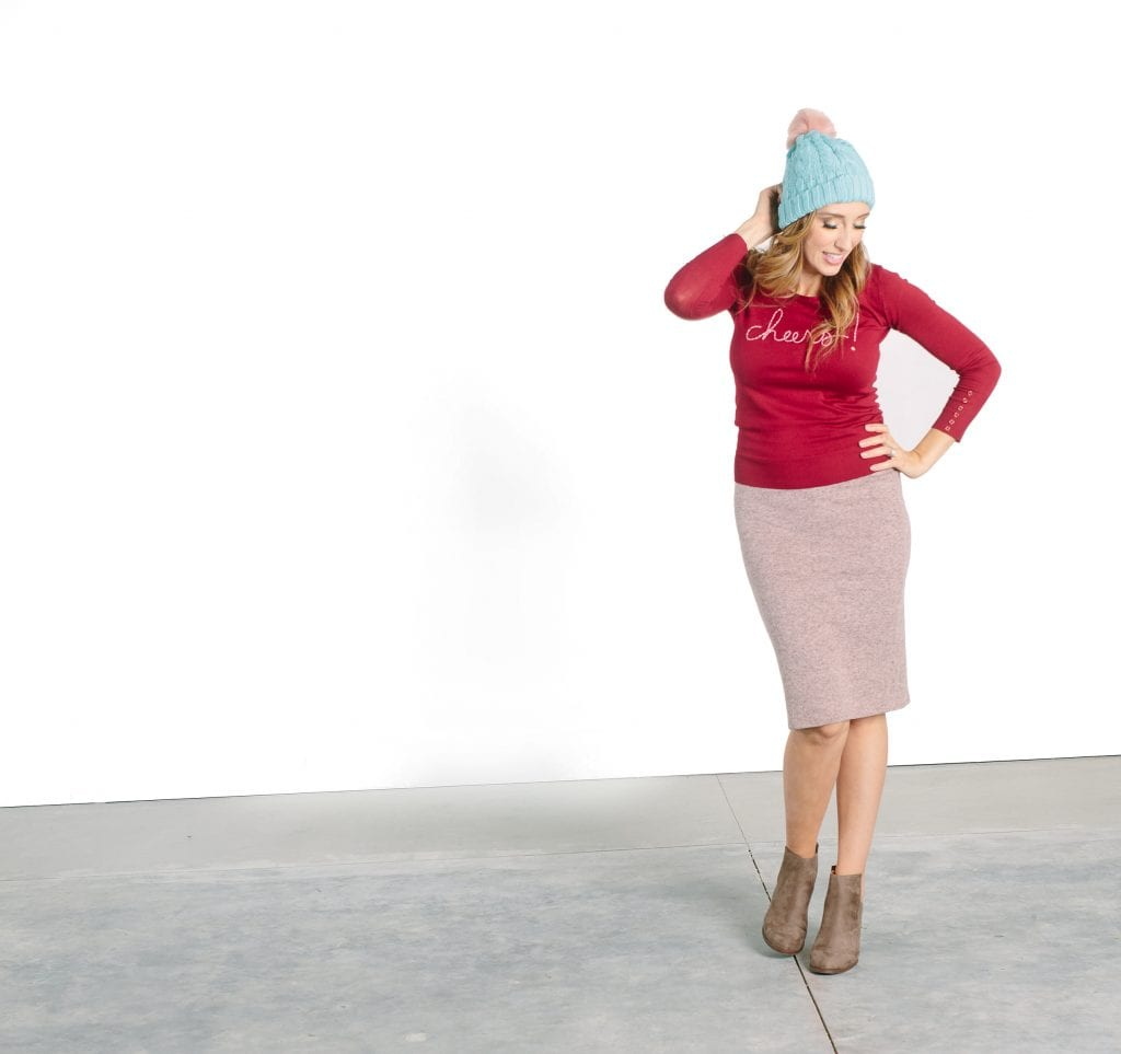 give more good - adorable winter line that gives back to women in need!