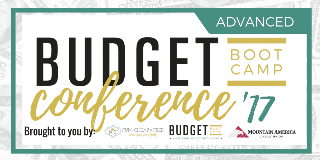 SUPER fun budgeting conference!