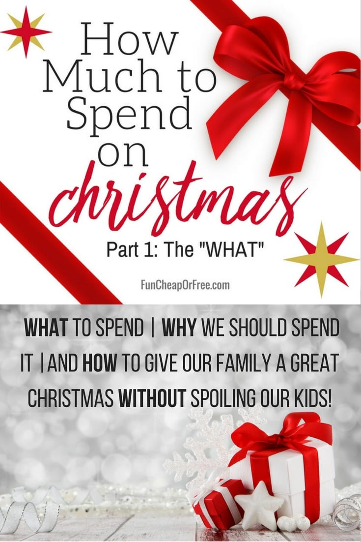 How much to spend on Christmas! GREAT ideas!