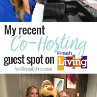 My recent Co-Hosting guest spot on Fresh Living