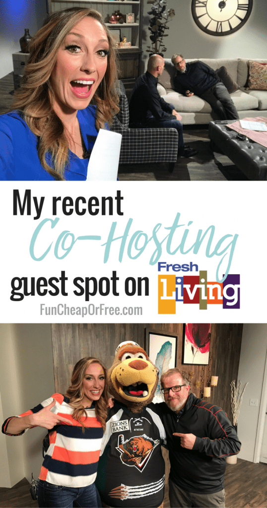 My recent co-hosting guest spot on Fresh Living, from Fun Cheap or Free