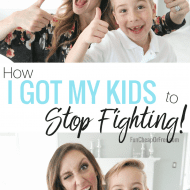 How I got my kids to STOP FIGHTING!