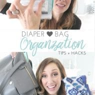 How I organize my diaper bag! (AKA Black Hole bag…)