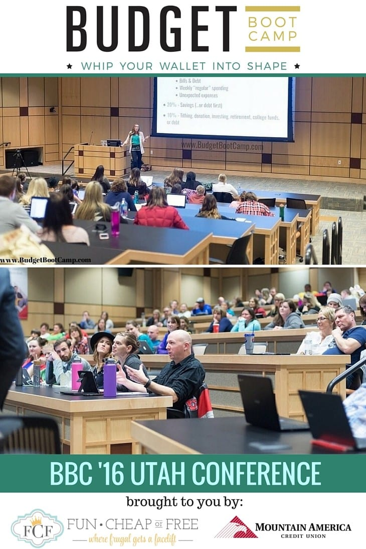 Budget Boot Camp 2016 - Utah Conference Recap! See all the details www.BudgetBootCamp.com