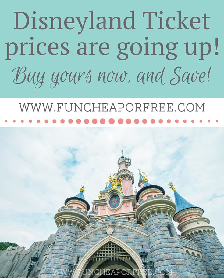 Save on Disneyland tickets from FunCheapOrFree.com