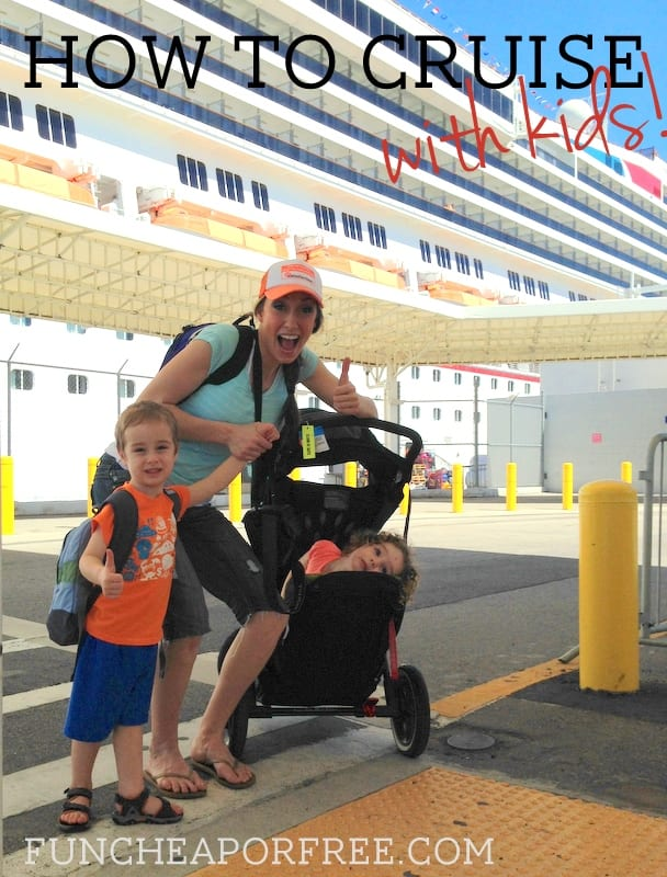 How to cruise with kids - THE BEST tips!!!