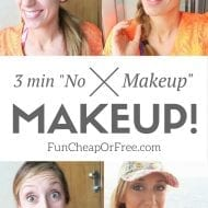 """No Makeup"" Makeup! (My 3-minute face)"