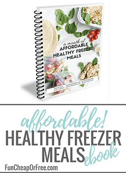 Healthy Freezer Meal Ebook