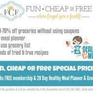 How I save on Groceries and Deals to Meals Special Pricing!