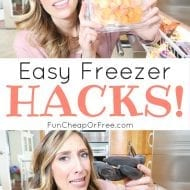 Freezer Hacks! + Things you (most likely) didn't know you could ..