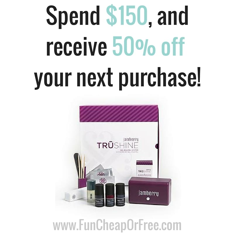 Exclusive discounts just for Freebs! Buy 3, Get 2 FREE, and 50% off your next purchase! www.FunCheapOrFree.com