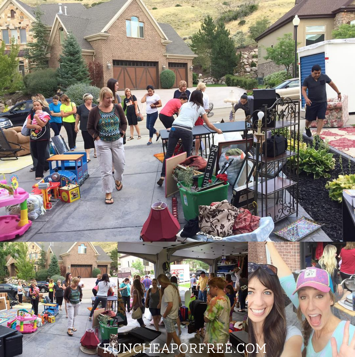 How to become a yard sale ninja!! Naviage, shop, and throw the best yardsales of your life! From FunCheapOrFree.com