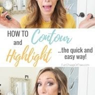 How to Contour and Highlight! (+ my favorite contouring products)