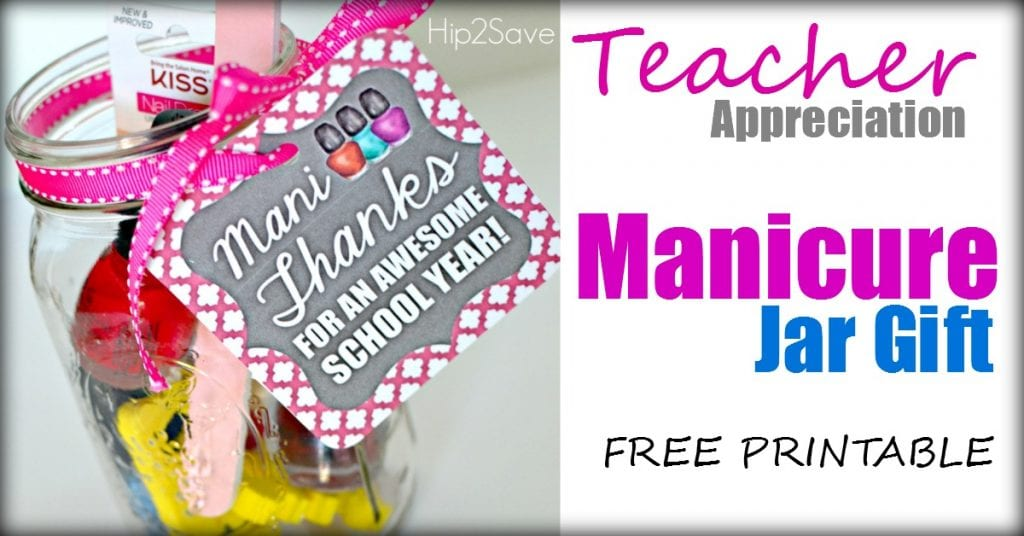 picture about Mani Thanks Free Printable titled The Easiest Instructor Appreciation Items - Adorable, Inexpensive and Basic
