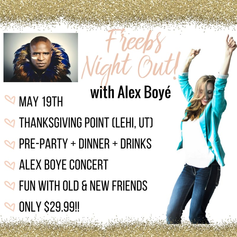 ladies night out with Alex Boy and Funcheaporfree!