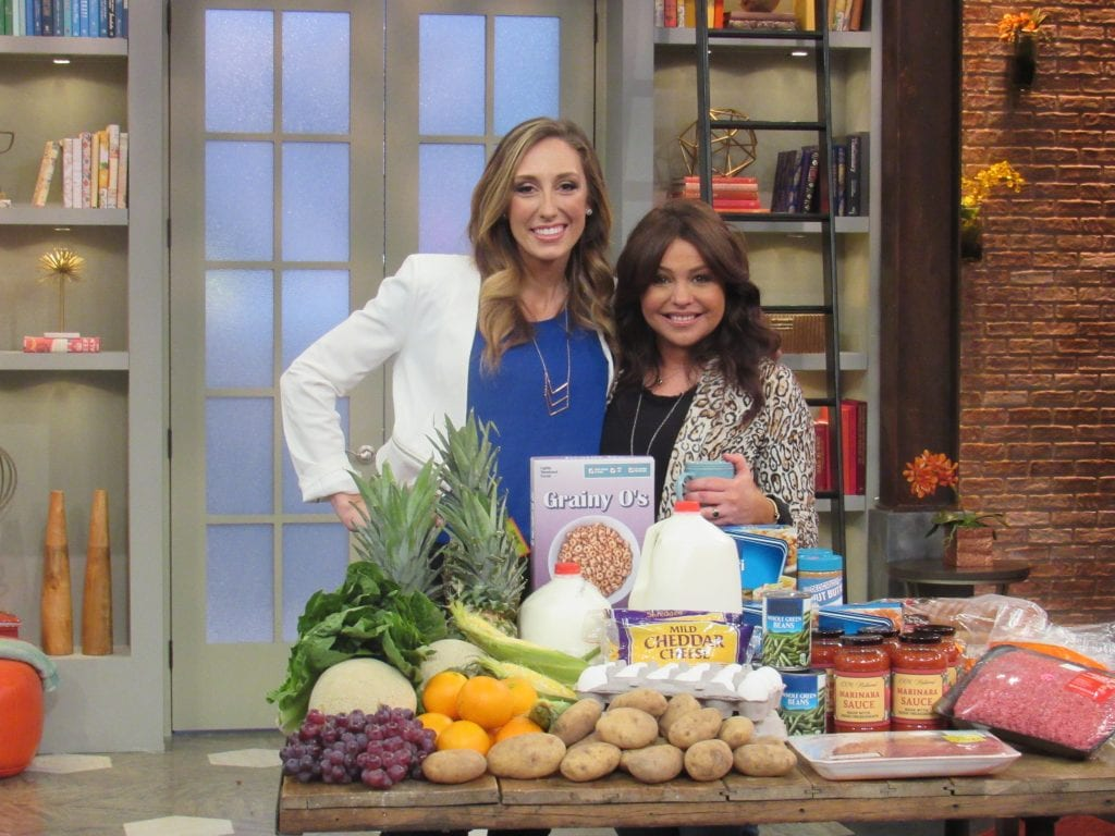 Jordan Page and Rachael Ray - how to feed a family of 4 for $100