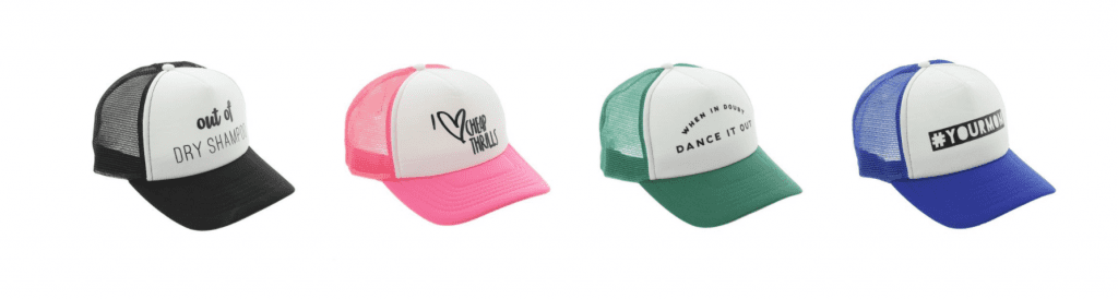CUTEST trucker hats EVER!