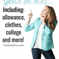 How much to spend on kids! | Allowance, clothes, college, etc | Q&#038..