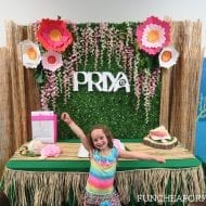 The cutest MOANA PARTY! | Priya's 6th birthday party