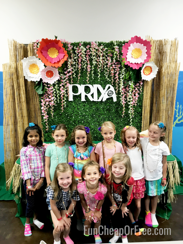 Cutest Moana party ever!
