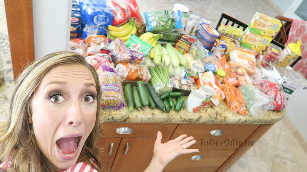 HOLY AMAZING - 2 weeks of food for a family of 7 for under $200, NO COUPONS! This is genius!