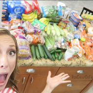 How I grocery shop + stock up on a budget! (My best grocery shopping t..