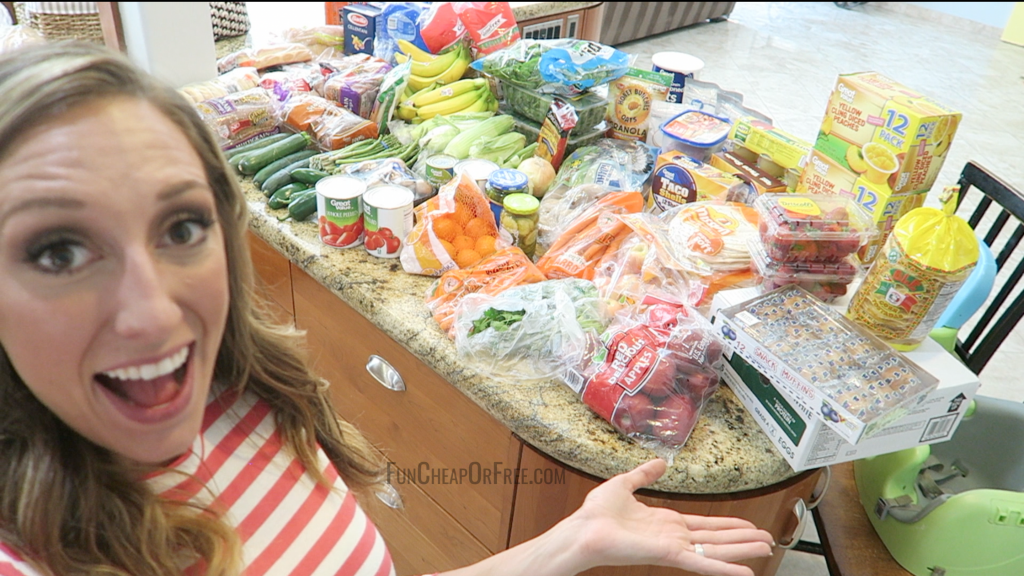 How I grocery shop + stock up on a budget!
