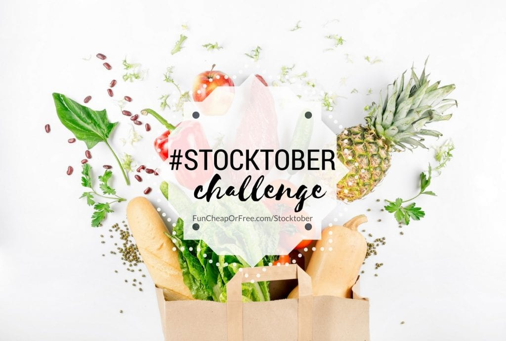 Stocktober challenge! How to buy bulk and stock up ON A BUDGET! This is amazing!