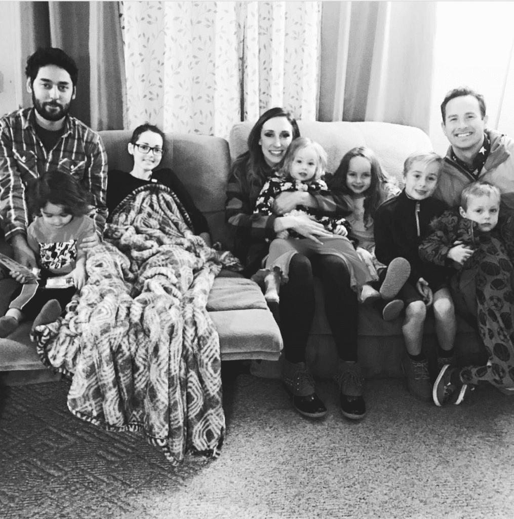 Jordan with Secret Santa family, from Fun Cheap or Free