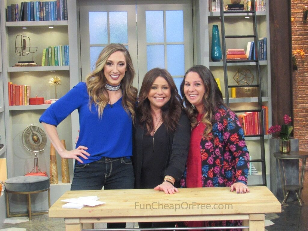 Jordan and Rachel Ray, from Fun Cheap or Free