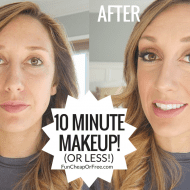 My 10 minute makeup routine! How I do my makeup, every day (I'm ..