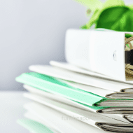 How to Get Rid of PAPER CLUTTER! Schoolwork, Receipts, Important Docum..
