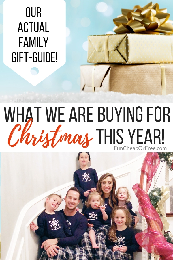 The best 2018 family Christmas gift guide from funcheaporfree.com!